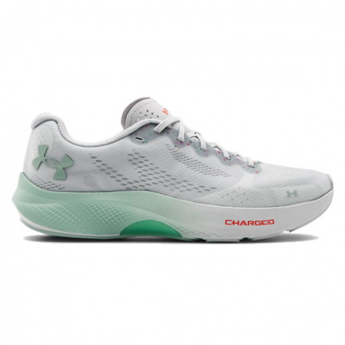 Tenis Under Armour Running Charged Pulse Gris Mujer