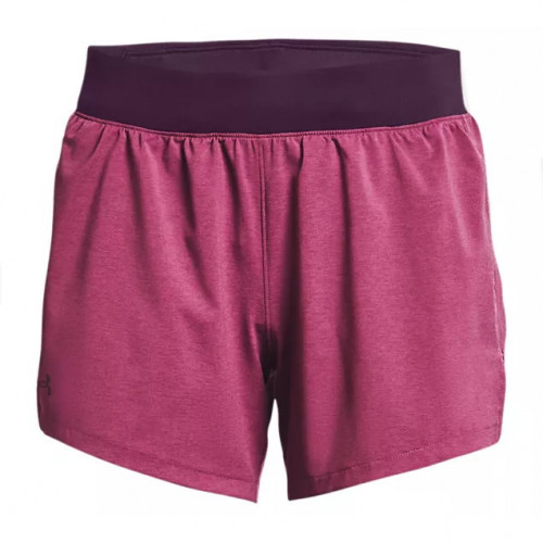 Short Under Armour Running Launch Go Long 5in Rosa Mujer
