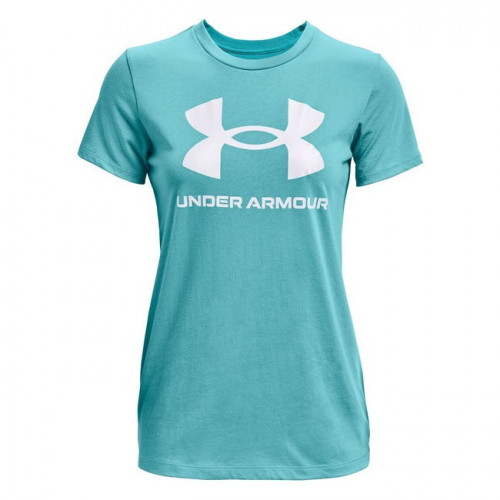 Playera Under Armour Fitness Live Sportstyle Graphic Azul Mujer