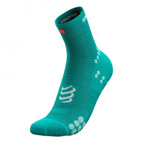 Calcetines Compressport Running Pro Racing v3.0 High Summer Refresh Limited Verde