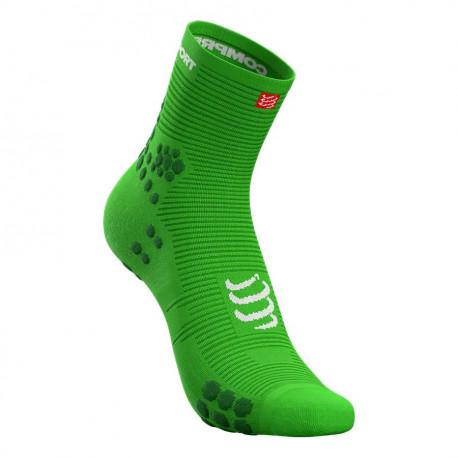 Calcetines Compressport Running Pro Racing v3.0 High Summer Refresh LTD Verde