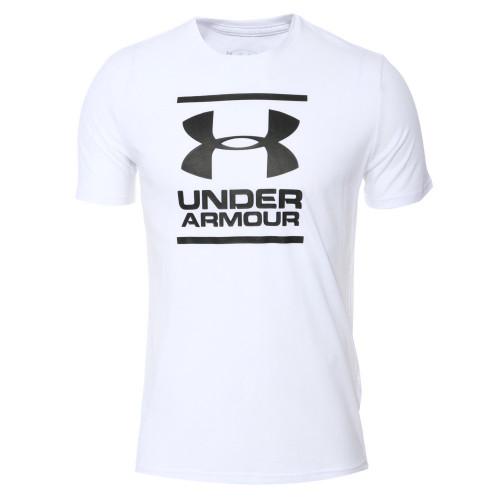 Playera Under Armour Fitness Gl Foundation   Blanco Hombre