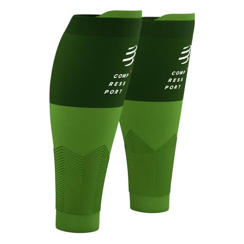 Pantorilleras Compressport Running R2V2 Summer Refresh Limited Verde