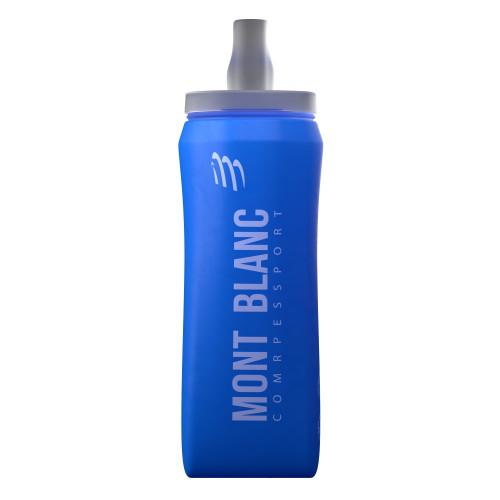 Botella Compressport Trail Running ErgoFlask 500 ml Mont Blanc Limited Azul