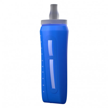 Botella Compressport Trail Running ErgoFlask 500 ml Mont Blanc LTD Azul