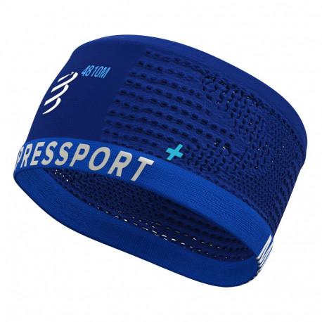 Headband Compressport Running On/Off Mont Blanc Limited Azul