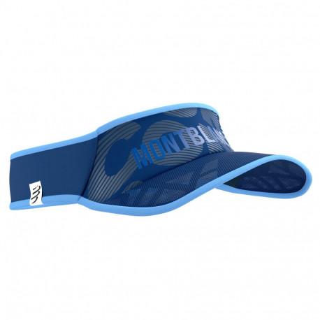 Visera Compressport Running Spiderweb Ultralight Mont Blanc LTD Azul