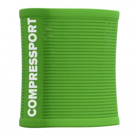 Muñequera Compressport Running Sweatbands 3D.Dots Summer Refresh LTD Verde