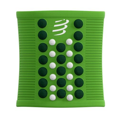 Muñequera Compressport Running Sweatbands 3D.Dots Summer Refresh Limited Verde