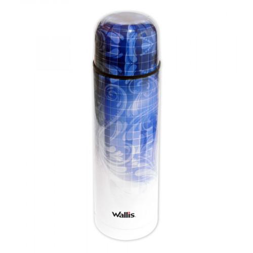 Termo Wallis Outdoor Tipo Bala 500ml Azul