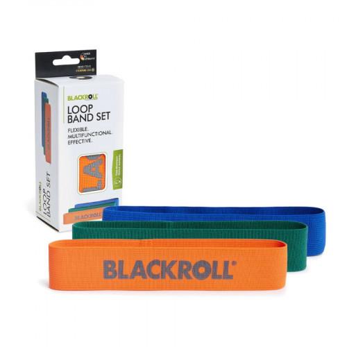 Liga Blackroll Multisport 3 Pzs Loop Band Resistencia Multicolor