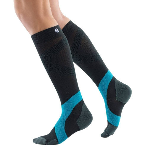 Calcetines Bauerfeind Multisport Long Ball & Racket Compresion   Negro