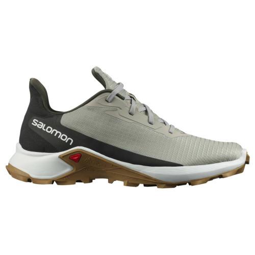 Tenis Salomon Trail Running Alphacross 3 Gris Hombre