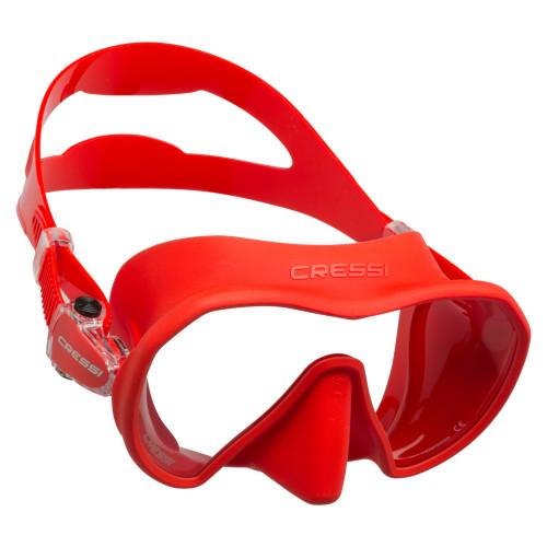 Visor Cressi Buceo Z1 Rojo