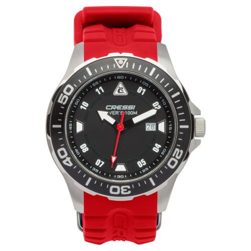 Reloj Cressi Buceo Manta Rojo