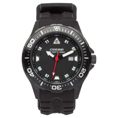 Reloj Cressi Buceo Manta Negro