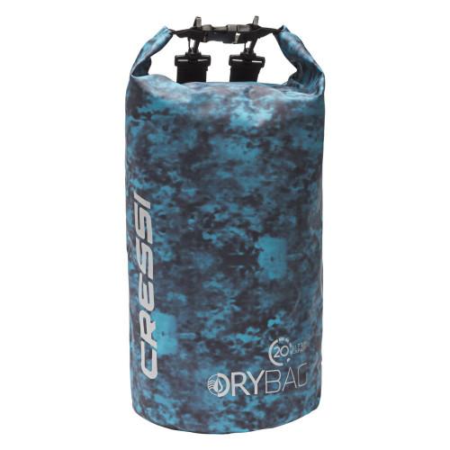 Dry Bag Cressi Buceo Camuflaje De Lona 20 L Hunter Azul