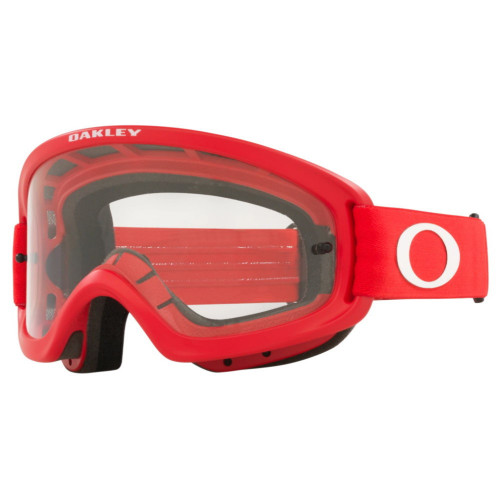 Goggles Oakley MotorSports O Frame 2.0 Pro Xs Mx Clear Rojo