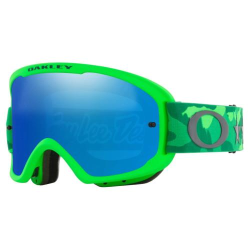 Goggles Oakley MTB O Frame 2.0 Pro Mtb Black Ice Iridium Verde