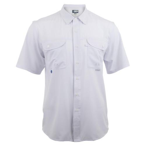Camisa Maja Pesca Outdoor Signature Blanco Hombre