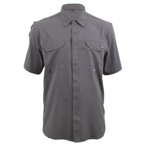 Camisa Maja Pesca Outdoor Signature Gris Hombre