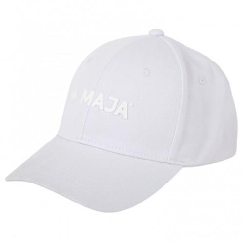 Gorra Maja Playa Snapback Logo Blanco