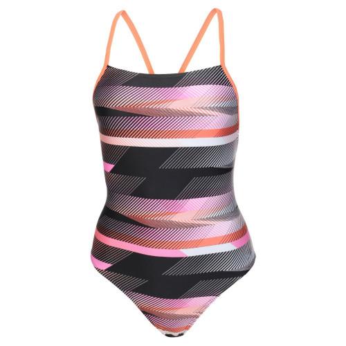 Traje de baño Speedo Natación Fast Way Strappy Crossback Multicolor Mujer