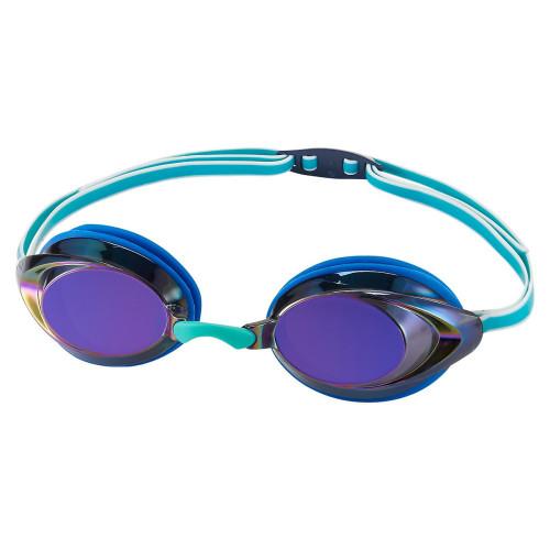 Goggles Speedo Natación Vanquisher 2.0 Mirrored Azul Joven
