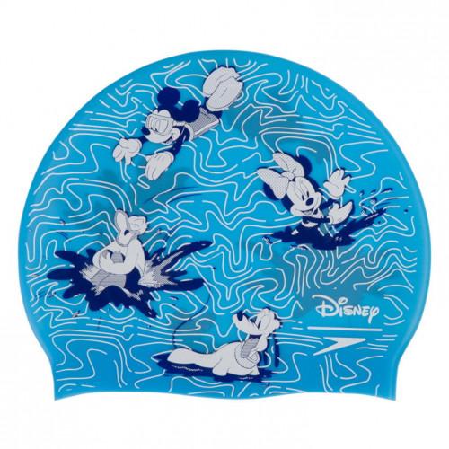Gorro Speedo Natación Disney Print Cap Mickey Azul Kids