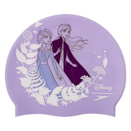 Gorro Speedo Natación Disney Print Cap Frozen 2 Morado Kids