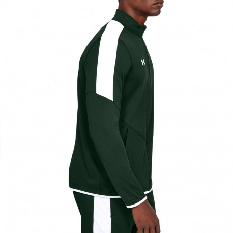 Sudadera Under Armour Fitness Rival Knit Verde Hombre