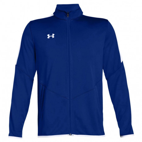 Sudadera Under Armour Fitness Rival Knit Azul Hombre