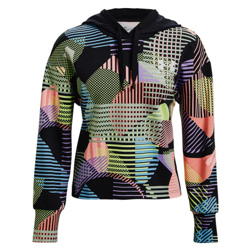 Sudadera Under Armour Fitness Rival Terry Geo Print Multicolor Mujer