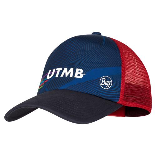 Gorra Buff Trail Running Trucker UTMB  Multicolor
