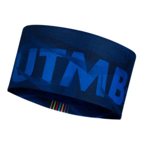 Headband Buff Trail Running Coolnet UV Wide UTMB 2021 Azul