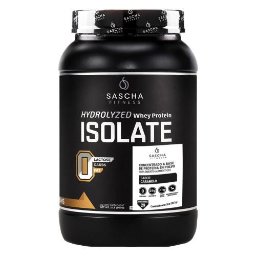 Proteina Sascha Fitness Fitness Isolate Caramelo Negro