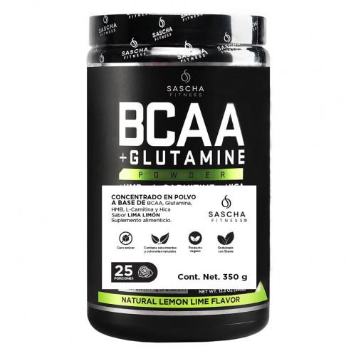 Suplemento Sascha Fitness Fitness BCAAS Lima Limon Negro