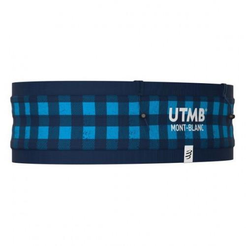 Cinturon Compressport Trail Running Free Belt Pro UTMB LTD Azul