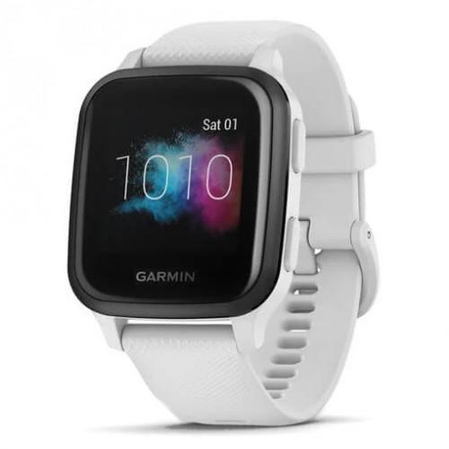 Reloj Garmin Wellness Venu SQ Music Edition Blanco