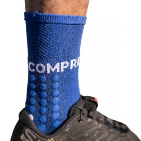 Calcetines Compressport Running UltraTrail Azul