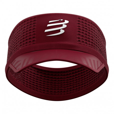 Headband Compressport Running SpiderwebOn/Off Vino