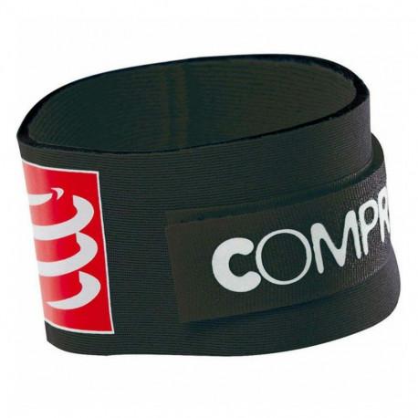Cinta Compressport Running Timing Chip Negro