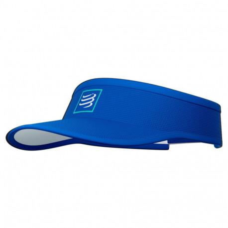Visera Compressport Running Curva Azul