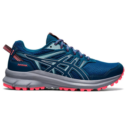 Tenis Asics Trail Running Trail Scout 2 Azul Mujer