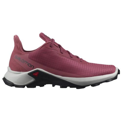 Tenis Salomon Trail Running Alphacross 3 Rojo Mujer