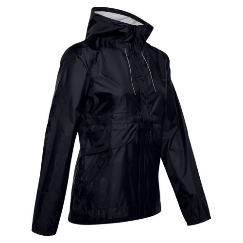 Chamarra Under Armour Fitness Cloudstrike Shell Negro Mujer