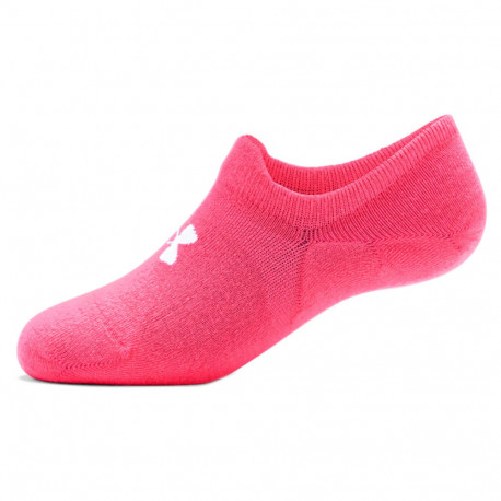 Calcetines Under Armour Fitness Essential UltraLowTab Rosa