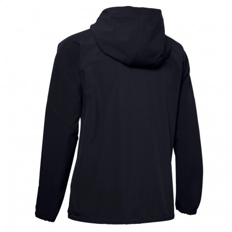 Sudadera Under Armour Fitness Woven Hooded Negro Mujer