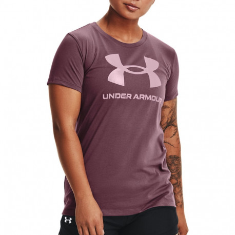 Playera Under Armour Fitness Live Sportstyle Graphic  Morado Mujer
