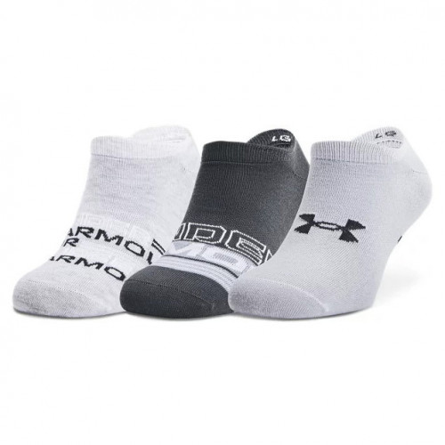 Calcetines Under Armour Fitness Essential No Show Gris